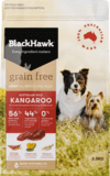 Black Hawk Adult dog grain free kangaroo 7kg