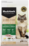 Black Hawk Feline Grain Free Chicken & Turkey 2.5kg