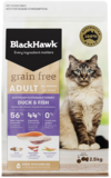 Black Hawk Feline Grain Free Duck & Fish 1.2kg