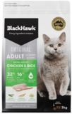 Black Hawk Feline chicken & rice 15kg