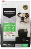 Black Hawk Original Chicken & Rice Holistic ADULT Formula 10kg