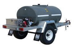 DieselPatrol 1200L - Diesel Refuelling Trailer with On-Farm Single Axle by TTi