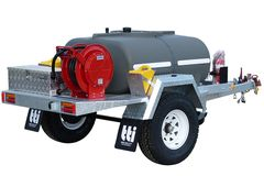 DieselPatrol 800L - Diesel Refuelling Trailer with On-Farm Single Axle by TTi