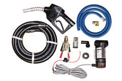 TTi Dieselflo 40 L/min 12v diesel transfer pump kit complete with auto shut-off