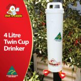 Dine a Chook - 4L Twin Drinker