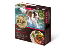 Dr B's Barf Dog Beef Patties 2.72kg (box of 12)