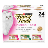 Fancy Feast Chicken Feast Classic Pate Variety Pack - 24 cans