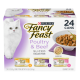 Fancy Feast Poultry & Beef Sliced Variety Collection - 24 cans