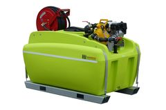 FireDefence 800L - Slip-on Fire Fighting Unit with Honda & Davey Pump by TTi