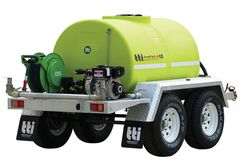 FirePatrol15 1500L - Fire Fighting Trailer with On Road Braked Dual Axle by Tti