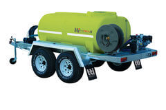 FirePatrol15 2000L - Fire Fighting Trailer with On Road Dual Axle by Tti
