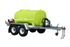 FirePatrol15 2400L - Fire Fighting Trailer with On Road Braked Dual Axle by TTi