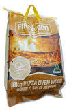 Firewood Bagged Pizza Oven: Double Split Redgum 10kg