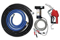 TTi Piusi 45 L/min 12v diesel transfer pump kit complete with auto shut-off nozz
