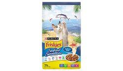 Friskies Cat Adult Seafood Sensations Prawn, Tuna, Salmon, Sardine 10kg