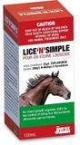 Lice'N'Simple Pour-On Equine Lousicide 100ml