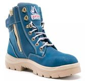 Steel Blue 512761 Southern Cross Zip Ladies - Blue