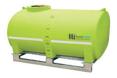 TTi SumpTrans 6000L | Fully-Drainable Chemical Tank with 20-Year Tank Warranty