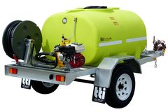 FirePatrol14 1000L - Fire Fighting Trailer with On Road Braked Single Axle by TT