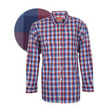 Thomas Cook Mens Jimbour check 2PK L/S Shirt