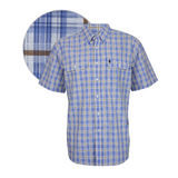 Thomas Cook Mens Lockhart Check 2-PKT S/S Shirt