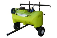 WeedControl 95L - 12v Zero Turn Spray Trailer with 8.3L/min Pump and 2m Boom by