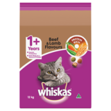 Whiskas Cat Dry Beef, Lamb, Liver & Veg 12kg