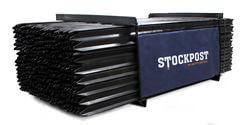 Whites Star Stockpost black 135cm EACH