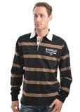 Wrangler Men's Bennett Stripe Rugby Jumper