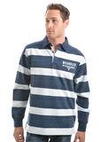 Wrangler Men's Mitchell Stripe Rugby