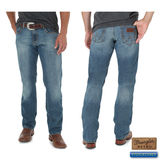 Wrangler Men's Retro Slim Straight Jeans