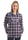 Wrangler Women's Keegan Zip Up Shirt Jacket