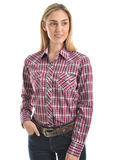 Wrangler Women's Maggie Check L/S Shirt
